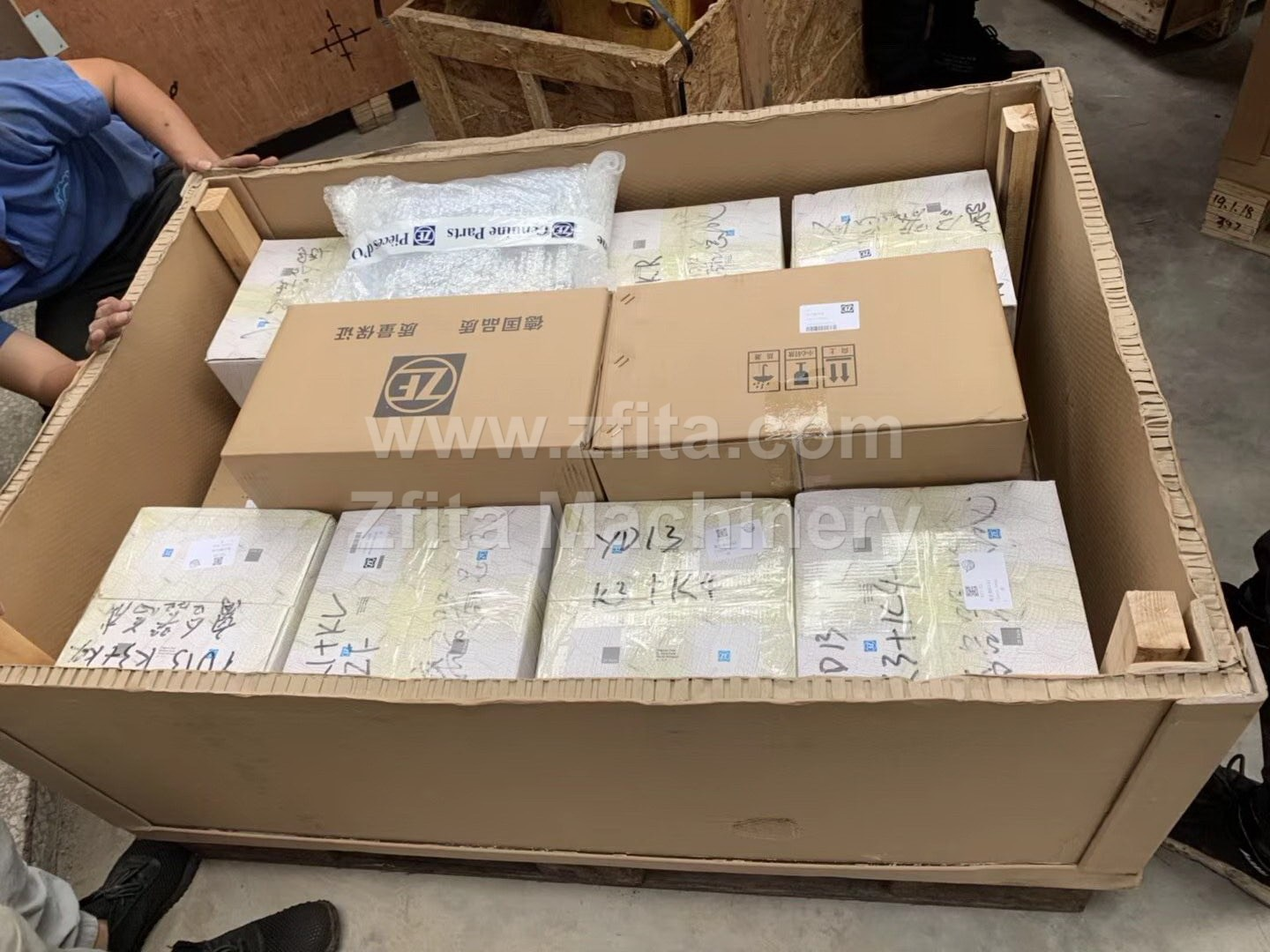 ZF parts ready for shipping(图1)